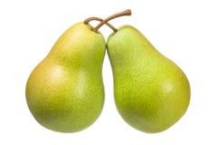 vita pears Arkivfoton
