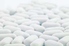 vita pills Arkivfoton