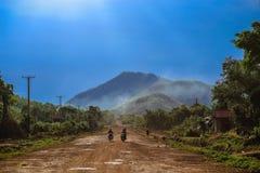 Vita quotidiana della gente della Cambogia Fotografia Stock