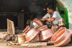 Vita quotidiana in India Immagine Stock Libera da Diritti