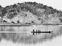 Vita quotidiana sul lago lak Immagini Stock