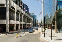 Vita quotidiana sulla via di Londra Immagini Stock Libere da Diritti