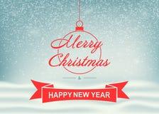 vita röda stjärnor för abstrakt för bakgrundsjul mörk för garnering modell för design Mall för julhälsningkort med glad jul för ö stock illustrationer