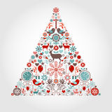vita röda stjärnor för abstrakt för bakgrundsjul mörk för garnering modell för design Arkivfoto