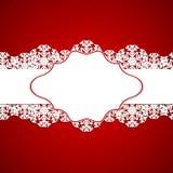 vita röda stjärnor för abstrakt för bakgrundsjul mörk för garnering modell för design Arkivfoton