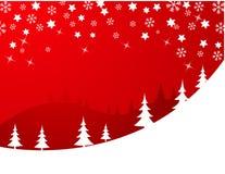 vita röda stjärnor för abstrakt för bakgrundsjul mörk för garnering modell för design Royaltyfri Bild