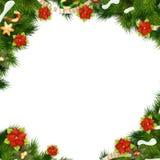 vita röda stjärnor för abstrakt för bakgrundsjul mörk för garnering modell för design 10 eps Royaltyfri Fotografi