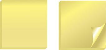 vita realistiska etiketter för bakrullningssida Arkivfoton