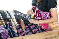 Vita rurale casalinga del tessuto Immagine Stock Libera da Diritti