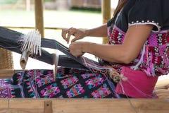 Vita rurale casalinga del tessuto Fotografia Stock Libera da Diritti
