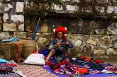 Vita in Sapa-Viet Nam Fotografie Stock Libere da Diritti
