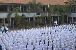 Vita scolastica indonesiana 5 Fotografia Stock Libera da Diritti