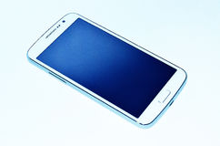 Vita Smartphone Royaltyfri Fotografi
