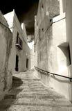 vita spanska byar Arkivbilder