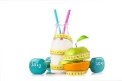 Vita, sport e dieta sani Immagine Stock Libera da Diritti
