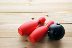 vita stift för bowling 3d Arkivfoto