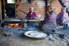 Vita turca del villaggio Fotografia Stock Libera da Diritti