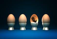 Vita in uovo Fotografia Stock Libera da Diritti