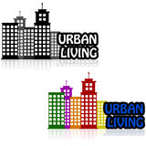 Vita urbana royalty illustrazione gratis