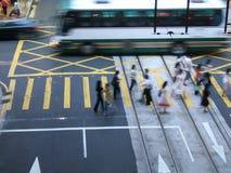 Vita urbana Fotografie Stock