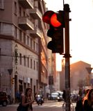 Vita urbana a Bologna Immagine Stock Libera da Diritti