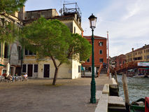 Vita urbana di Venezia Fotografia Stock Libera da Diritti
