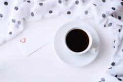 vita valentiner för st för bakgrundsdaghjärta Fotografering för Bildbyråer