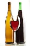 vita wines för livstidsred fortfarande Royaltyfria Foton