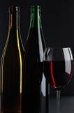vita wines för livstidsred fortfarande Arkivfoto