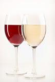 vita wines för livstidsred fortfarande Royaltyfria Bilder