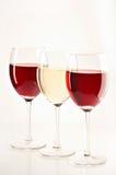 vita wines för livstidsred fortfarande Arkivbilder