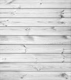 Vita Wood plankor Arkivfoton