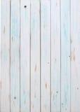 Vita wood plankor Royaltyfria Foton