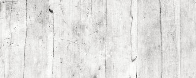Vita Wood plankor royaltyfria bilder