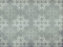 Vitage flourish pattern gray background Stock Photo