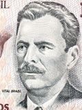 Vital Brazil portrait Stock Images