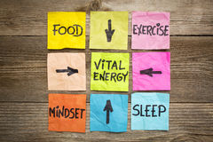 Vital energy concept royalty free stock image