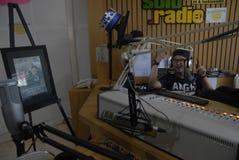 VITAL RADIO BROADCAST ROLE Stock Image