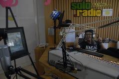 VITAL RADIO BROADCAST ROLE Stock Photography