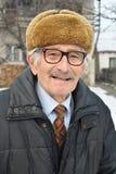 Vital senior's high spirit Stock Images