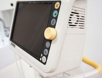 Vital Signs Monitor equipment Stock Photo