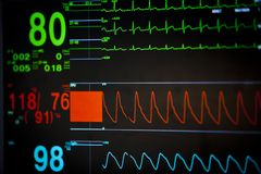 Vital signs unit Stock Images