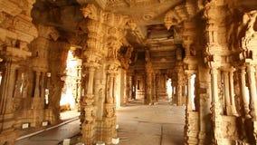 Vitala tempel Hampi Karnataka Indien stock video
