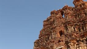 Vitala temple Hampi Karnataka India. Vintage Vitala temple Hampi Karnataka India stock video