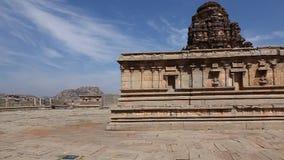 Vitala temple Hampi Karnataka India. Vintage Vitala temple Hampi Karnataka India stock footage