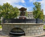 Vitali Fountain 1835, la fuente más vieja en Moscú Fotos de archivo