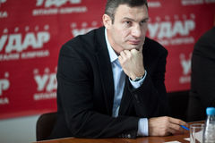Vitali Klitschko Royalty Free Stock Photos