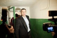 Vitali Klitschko Fotografie Stock Libere da Diritti