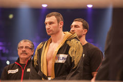 Vitali Klitschko in the ring Stock Image