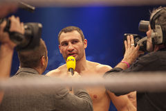 Vitali Klitschko in ring Stock Photos